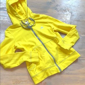Adidas zip up hooded sweatshirt size L